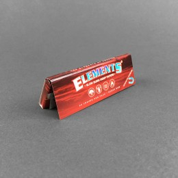 Papers Elements Red 1 1/4 Size