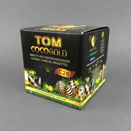 Naturkohle aus Kokosnußschalen Tom Cococha Gold