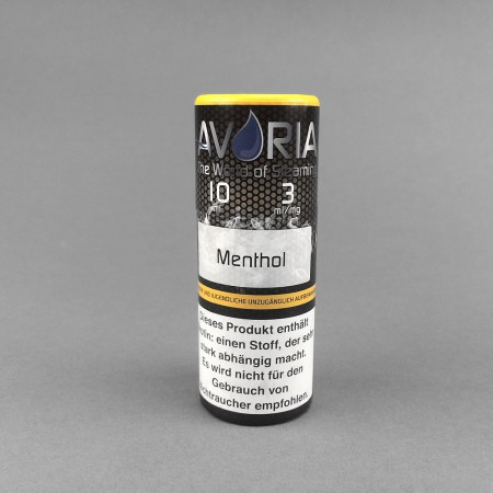 Liquid Menthol (3mg/ml) Avoria