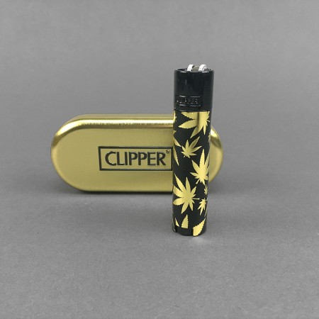 CLIPPER® Metal Leaves Gold & Black