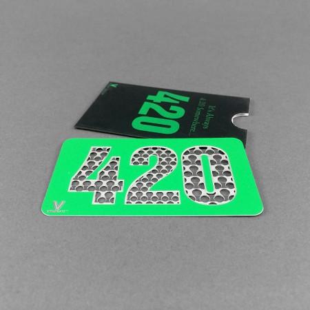 Grindercard 420 in Scheckkartengröße
