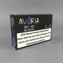 Avoria Nic Shots 80/20, 20 mg/ml