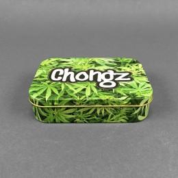 Metall Box 'Green Leaf'
