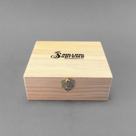 Wooden Rolling Box Big