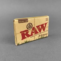 Papers RAW Artesano Organic 1 1/4 Size