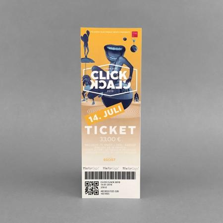 Festivalticket 'Click Clack' Open Air