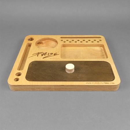 PURIZE® Mischungstablett aus Holz