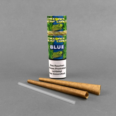 Cyclone Hemp Cones Blue