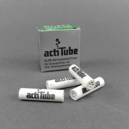 ActiTube Slim Aktivkohlefilter, 10er