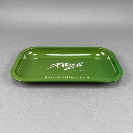 PURIZE® Rolling Tray Green
