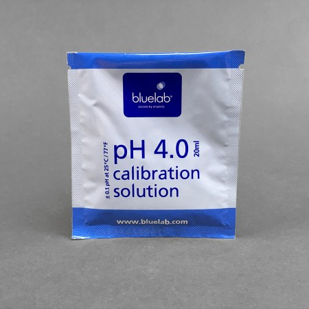 PH 4.0 Eichlösung, 20 ml