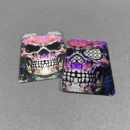 Grindercard Skull Teeth