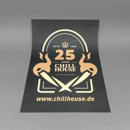 Chillhouse Poster '25 Jahre'