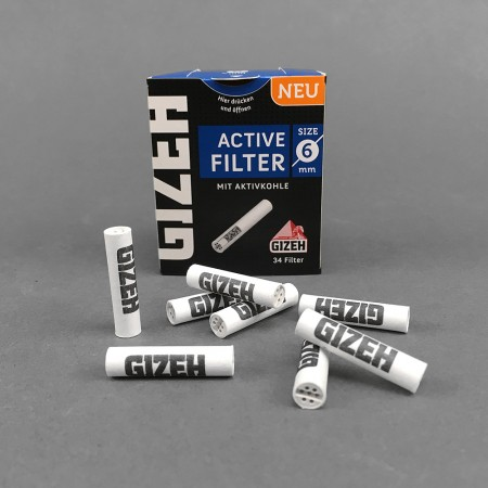 Gizeh BLACK Aktive Filter, 34er