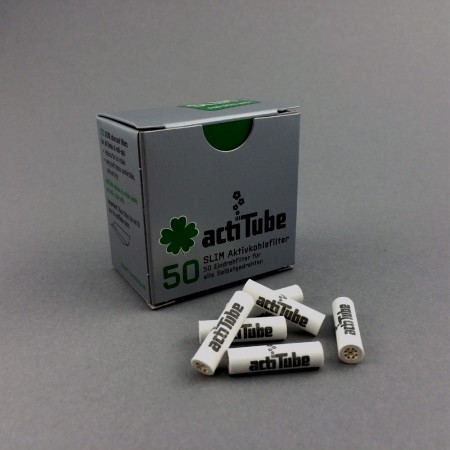 ActiTube Slim Aktivkohlefilter, 50er