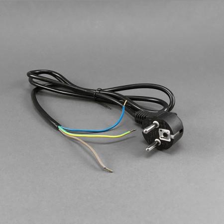 Netzkabel mit Stecker (0,75mm²/1,5m)