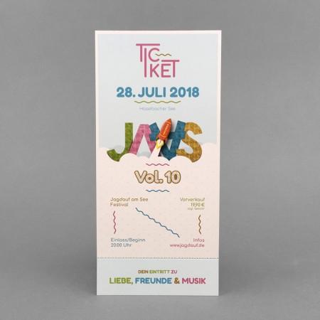 Ticket Jagdauf am See 2018