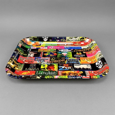 RAW Rolling Tray 'History' large
