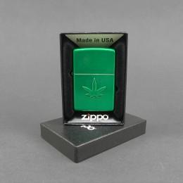 ZIPPO® Feuerzeug 'Stamped Leaf'