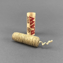 RAW Hemp Wick, 6 Meter