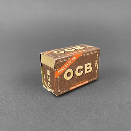 OCB Virgin Rolls Slim + Tips