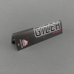 Papers Gizeh BLACK King Size Slim