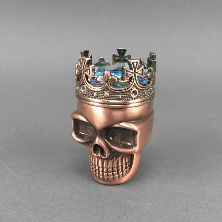 Metallgrinder 'Skull King'