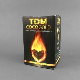 Tom Coco Gold Kokoskohle, 1 kg