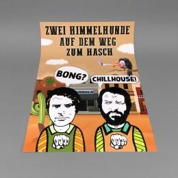 Chillhouse Poster 'Himmelhunde'
