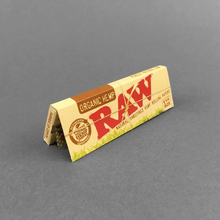 Papers RAW Organic 1 1/4 Size