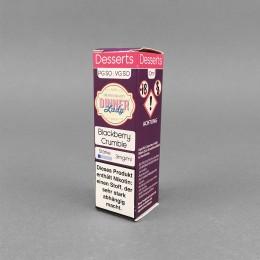 Liquid - Blackberry Crumble - 3 mg/ml