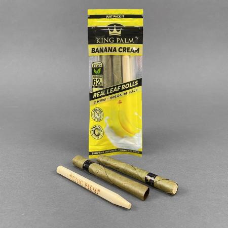 King Palm 2 Minis Banana Cream