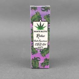 Bunte Blüte Relax CBD Öl 10 %