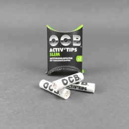 OCB ACTIV Tips Slim, 3er