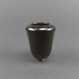 Decorated Ebony Bowl in Conical Form (5)