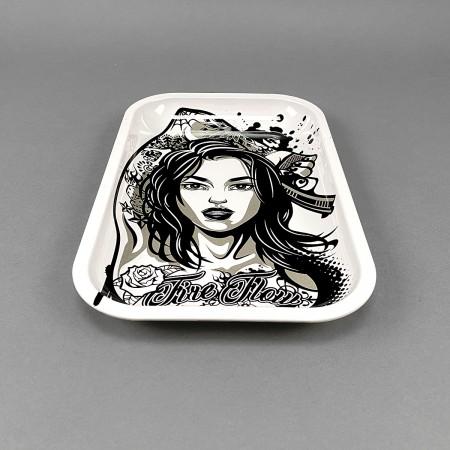 Rolling Tray 'Tattoo Girl'