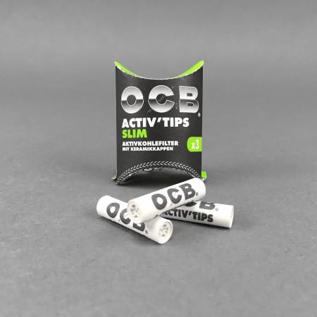 OCB ACTIV Tips Slim, 3er