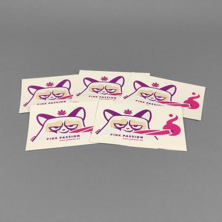 Chillhouse Sticker Set 'Pink Passion'
