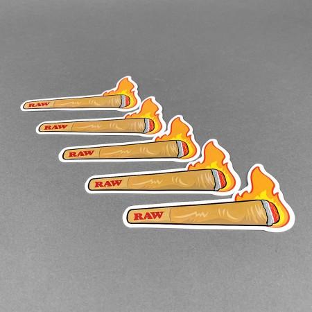 RAW Sticker Set 'Friendly Fire'