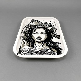 Rolling Tray 'Tattoo Girl'