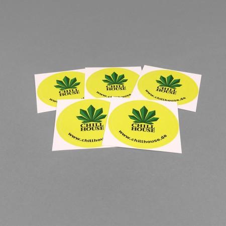 Chillhouse Sticker Set 'Taler'
