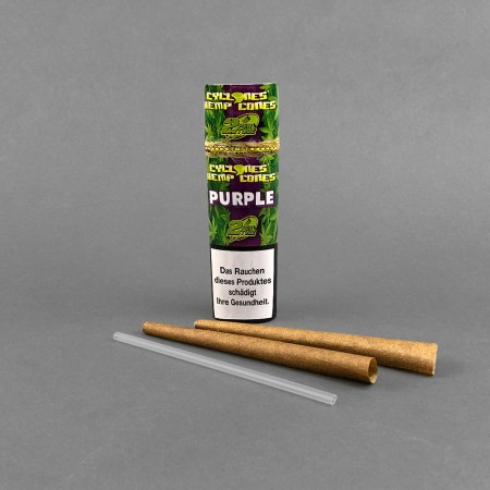 Cyclone Hemp Cones Purple