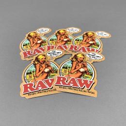 RAW Sticker Set 'RAW Girl'