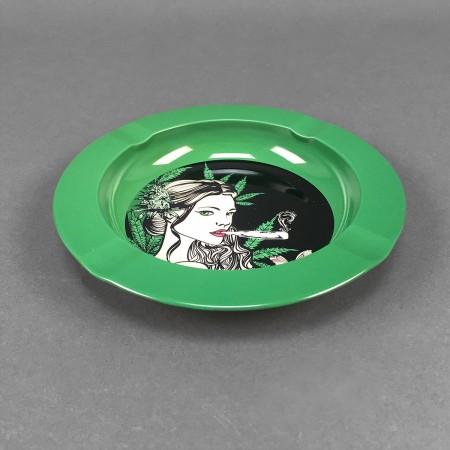 Aschenbecher Metall Mary Jane