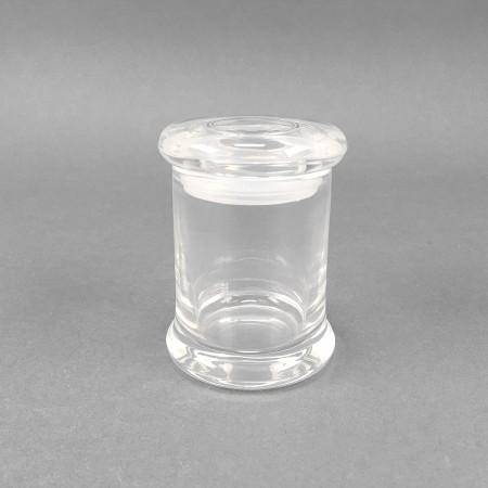 Glasdose 'Clear Barrel'