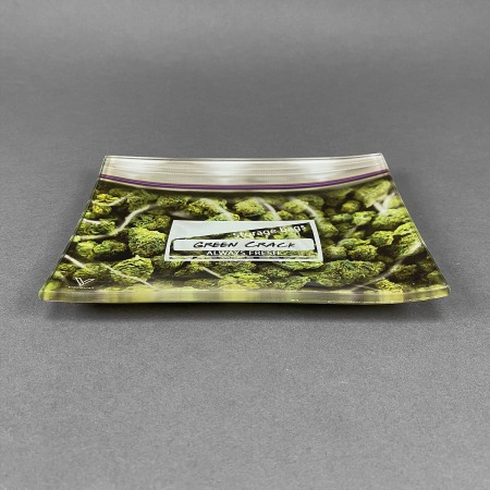 Glass Rolling Tray 'Pound Bag'