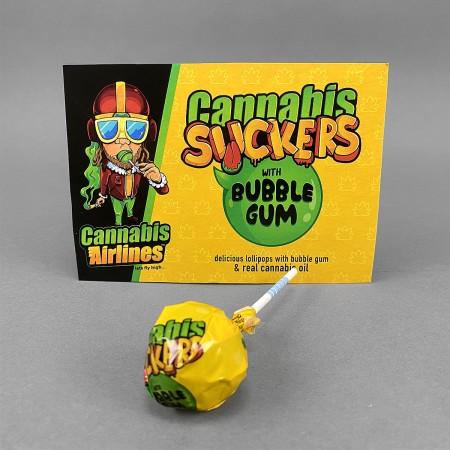 CannaPops - Cannabis Suckers Bubble Gum