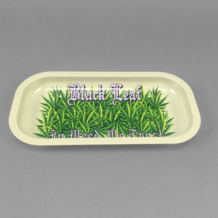 Rolling Tray 'In Weed we trust'