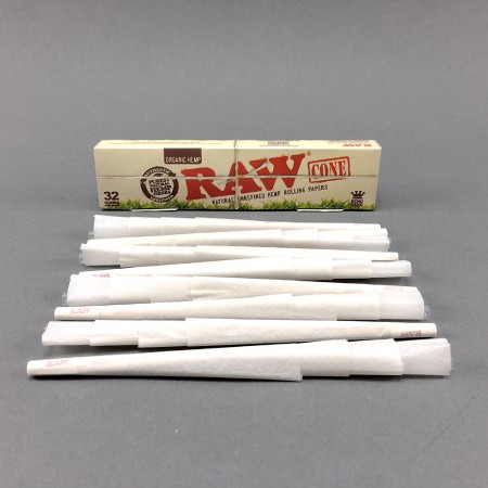 RAW Cones Organic King Size, 32er Pack