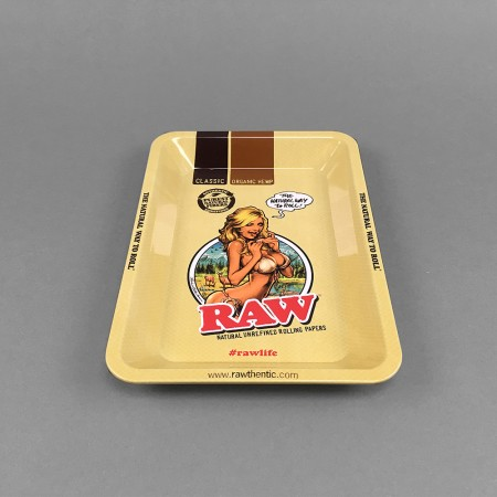 RAW Rolling Tray 'Girl' small